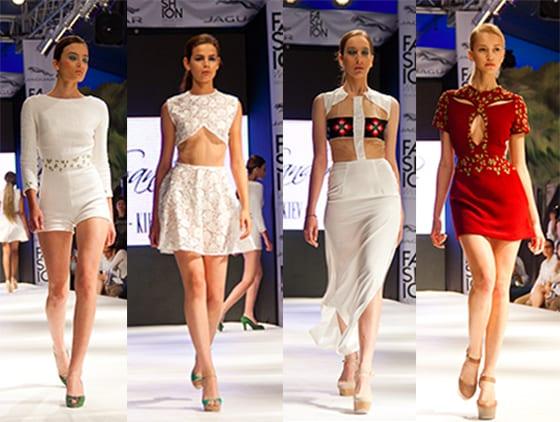 Jordan Sanders-Fashion week Tunis 2014