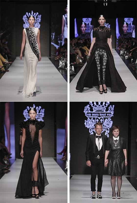 On Aura Tout Vu by Yassen Samouilov et Livia Stoianova-San Jose Fashion week 2014 @ Juan Caliva