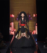 Conchita Wurst final Jean Paul Gaultier Haute Couture AH 2014-15