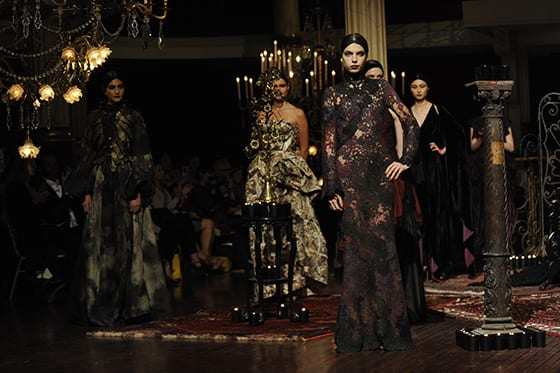 Franck Sorbier Haute Couture AH 2014-15