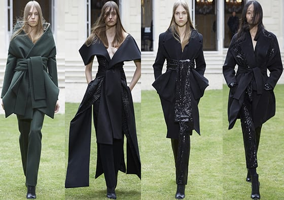 Rad Hourani Femme Couture AH 2014-15