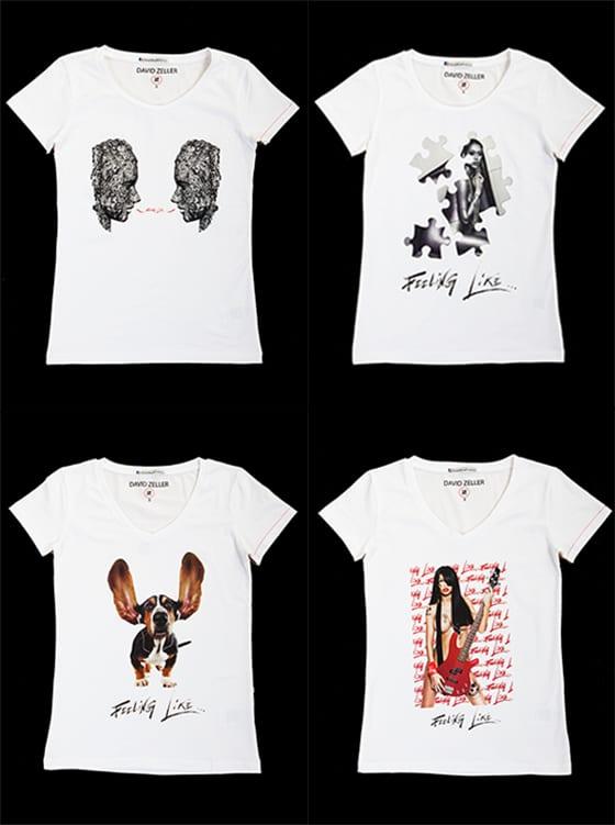 David Zeller-Feeling like-T.shirts Femme
