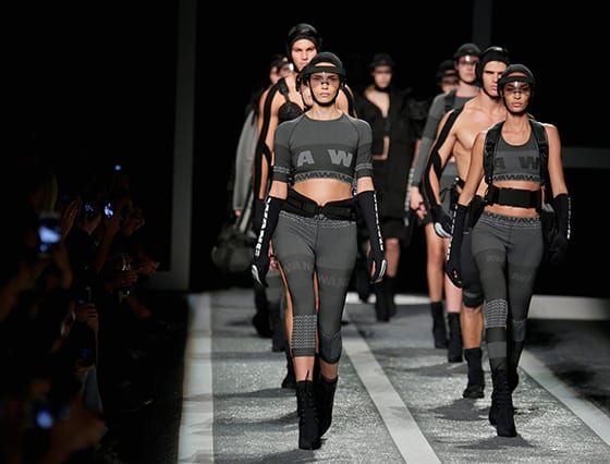Alexander Wang X H&M final défilé New York
