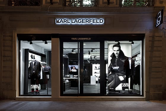 Boutique Karl Lagerfeld Homme Paris
