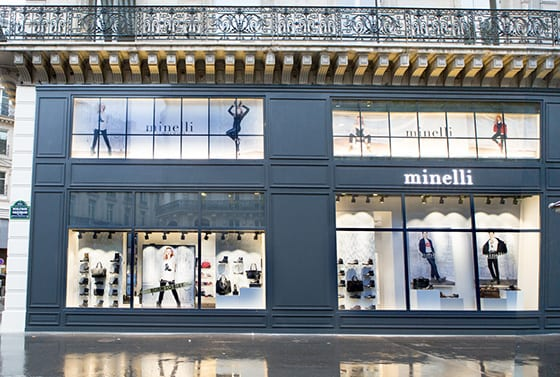 Boutique Minelli Bld Haussmann Paris