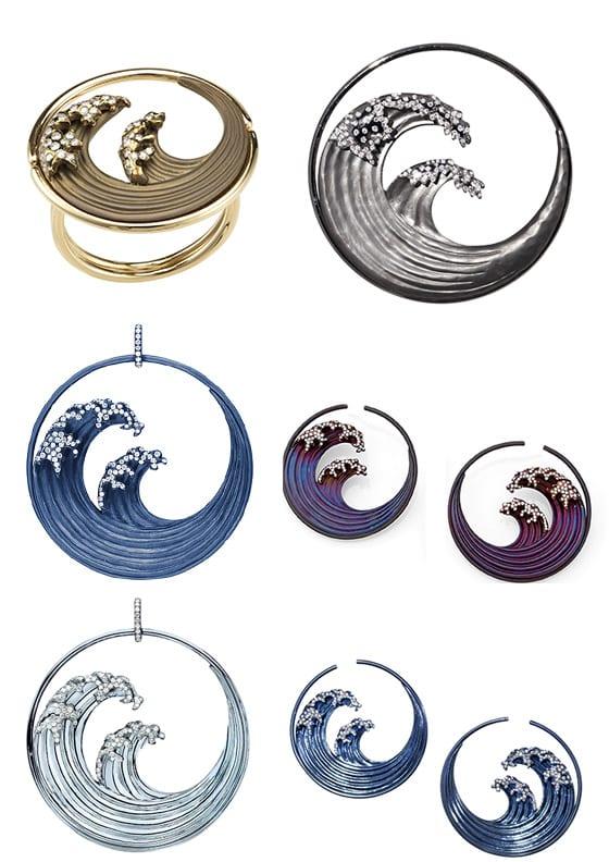 Garaude collection Hokusai