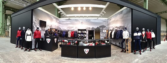 Rossignol Grand Palais Pop-up store
