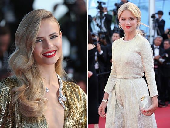 Cannes 2015_Natasha Poly-en Michael_Kors_Virginie_Efira_toutes_deux-avec_bijoux_Boucheron