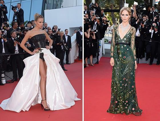 Cannes_2015_ Natasha_Poly_Atelier_Versace_bijoux _de_Grisogono_et_Poppy_Delevingne_en_Burberry