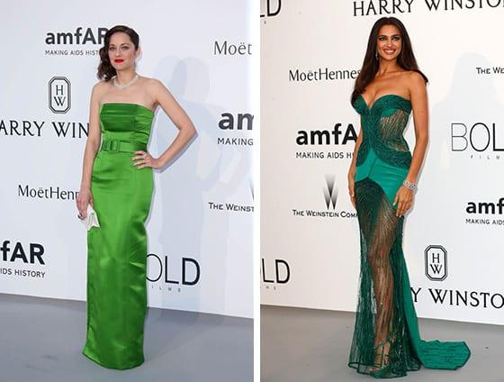 Cannes_2015_AMFAR_Marion_Cotillard_en_Jean_paul_Gaultier_et_Le_top_Irina_Shayk_en_Atelier_Versace_Guetty_web