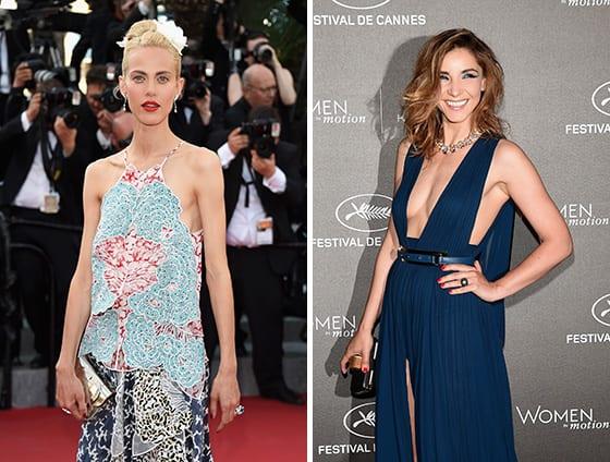 Cannes_2015_Aymerline_Valade_en Stella_McCartney_et_bijous_Boucheron_Clotilde_Courau_Bijoux_Boucheron