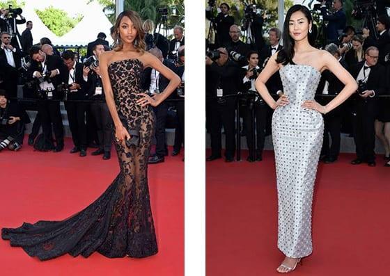 Cannes_2015_Jourdan_Dunn_et_Liu_Wen_bijoux_Boucheron_en_Ralph_&_Russo