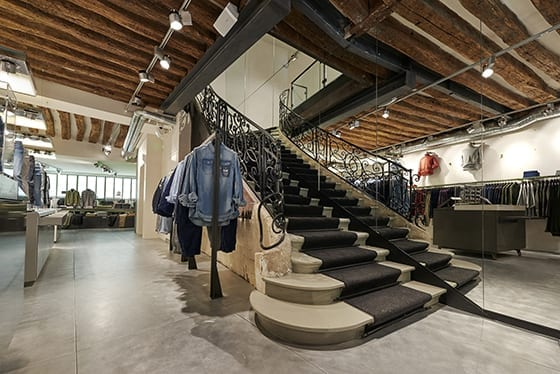 G-Star_ store_Paris_BastillRdc_Escalier