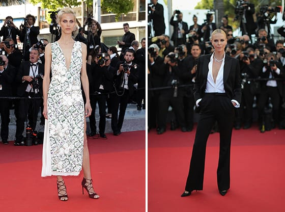 Aymeline_valade_et_Charlize_Theron_en Christian_Dior_Cannes_2016_©_Getty_Images