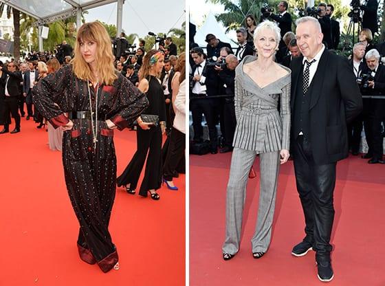 Daphne_Burki_et-Tonie _Marshall_en_Jean_Paul_Gaultier_Cannes_2016