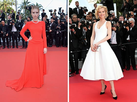 Lottie_Moss_et_Eva_Herzigova_en Christian_Dior_Cannes_2016_©_getty_images
