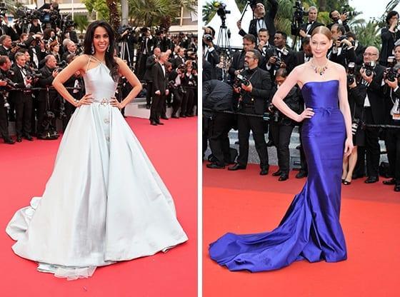 Mallika_Sherawat_et_Svetlana_Khodchenkova-en Georges_Hobeika_Cannes_2016