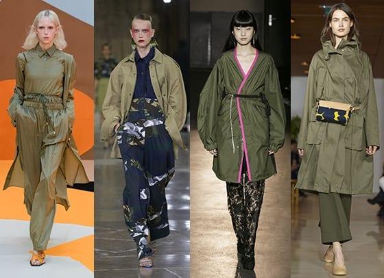 Fashion-Spider_Tendances_SS17_Kaki_AAlto_Kenzo_Lutz_Huelle_Marimekko