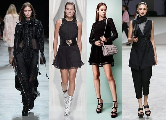 Fashion-Spider_Tendances_SS17_Noir_Di_Liborio_Emanuel_Ungaro_Georges_Hobeika_Issey_Miyake
