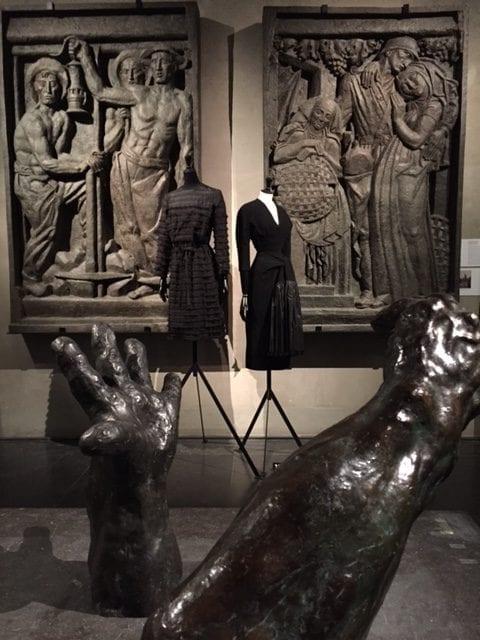 Balenciaga l'oeuvre au noir Musée Bourdelle