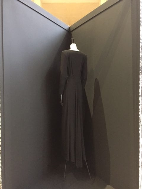 exposition Balenciaga_L'oeuvre au noir