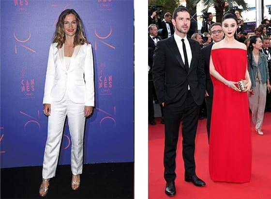 Cannes_2017_Cecile_de_France_en _Agnesb_Melvil_poupaud_en_Lanvin