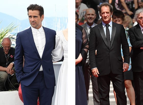 Cannes_2017_Collin_Farrell_et_Vincent_Lindon_en Dior_Homme_©_GettyImages