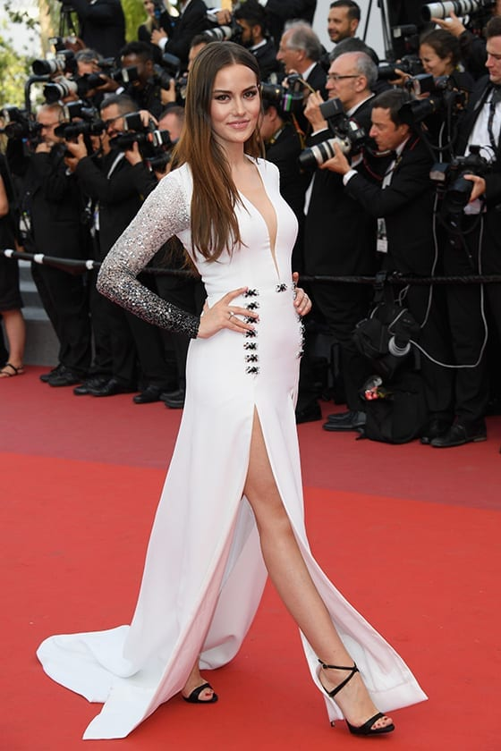 Cannes_2017_Fahriye_Evcen_en_Georges_Hobeika_©Dominique Charriau_WireImage