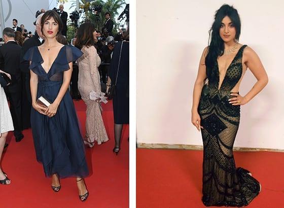 Cannes_2017_Jeanne_Damas_en Dior_et_Camelia_Jordana_en Idan_Cohen