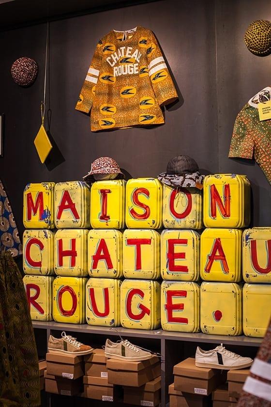 Pop-up-Store_Maison_Chateau_Rouge ©Olivier Romano & les créations ©Maison Château Rouge