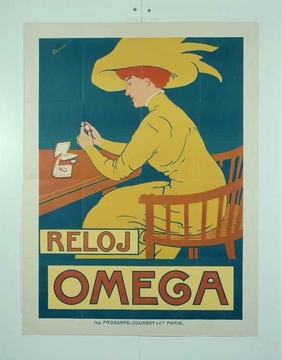 Poster_Reloj_Omega_circa_1900
