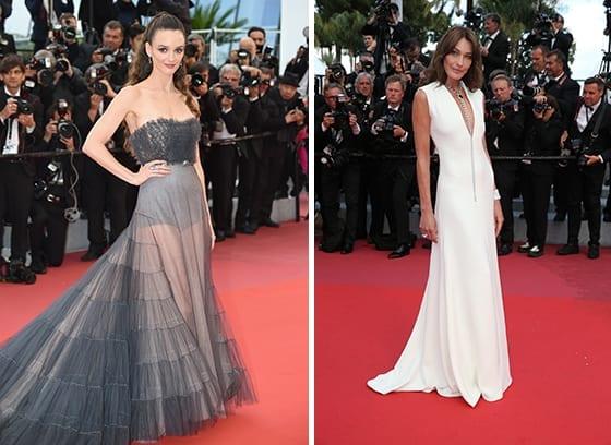 Cannes_2018_Charlotte_Lebon_et_Carla_Bruni_en_Dior