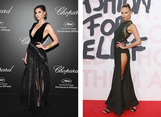 Cannes_2018_Clotilde_Courau_et_Natasha_Poly_en_Elie_Saab