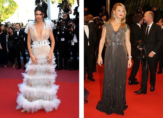 Cannes_2018_Kendall-Jenner_et_Virginie_Efira_en_Schiaparelli.