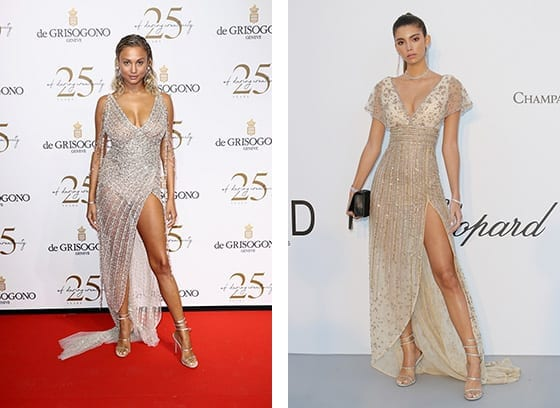 Cannes_2018_Rose_Bertram_et_Cindy_Mello_en_Georges_Hobeika