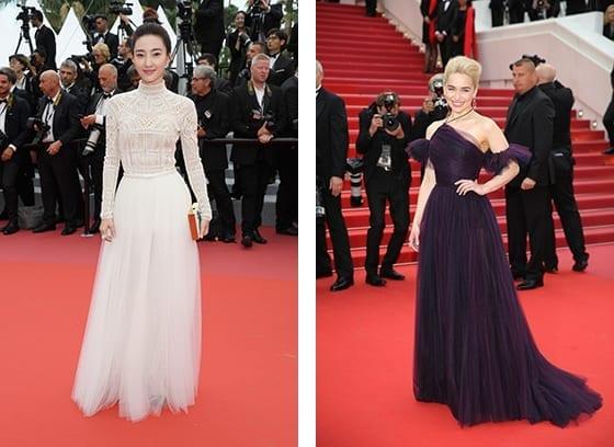 Cannes_2018_Wang_Likun_et_Emilia_Clarke_en_Dior