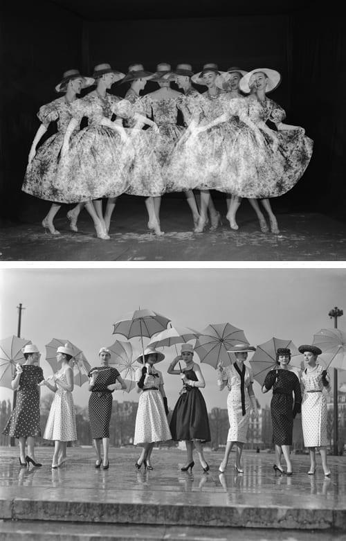 Modele_DIOR_Stroboscope_Studio_Willy_Rizzo_1953_et_Modeles_Dior_Place_du_Trocadero_AH_1953-54