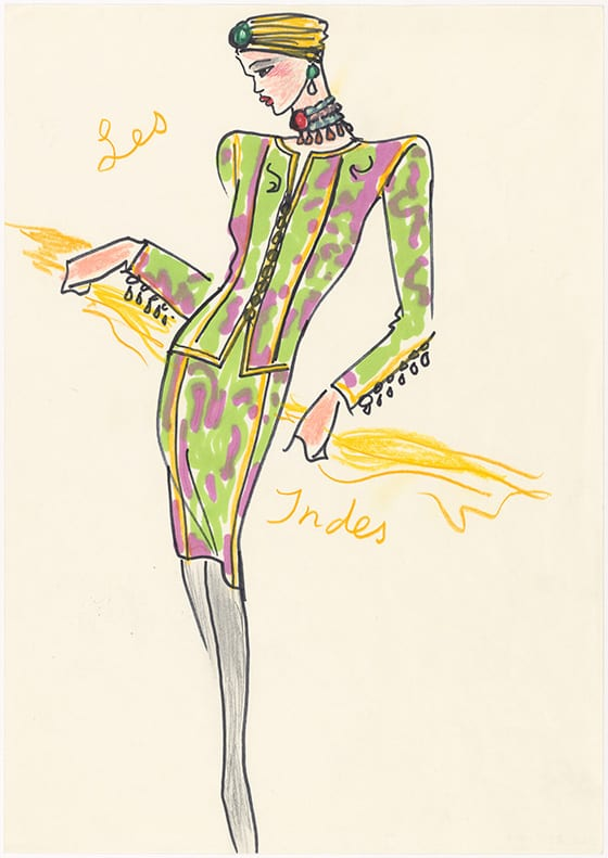 Croquis_d-illustration_Musee_Yves_Saint_Laurent_Paris_©_Yves_Saint_Laurent