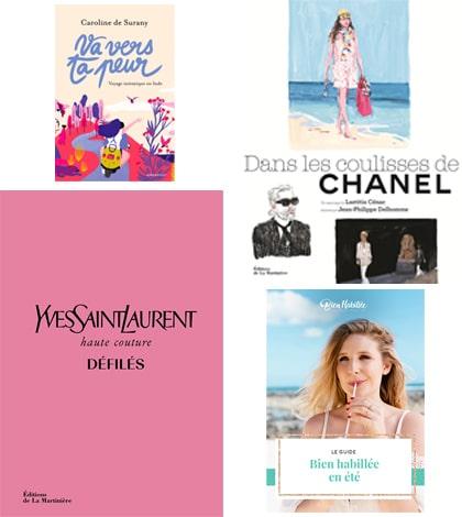 Fashion-Spider_Selection_Livres-ete_2019_Caroline-de-Surany_Emma-Denaive_Yves-Saint_Laurent_Chanel