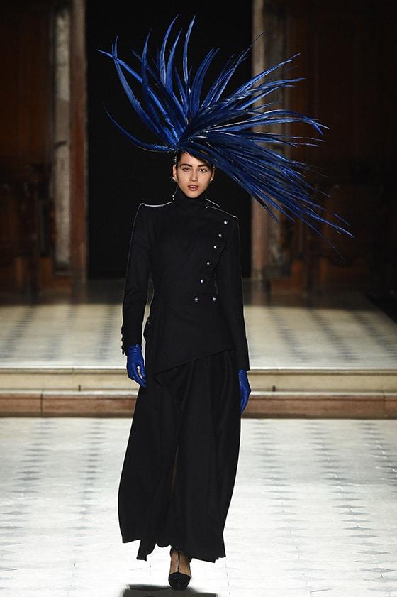 Haute Couture fall / winter 2019/20, Paris, France, Julien Fournie