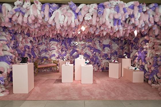 Roger Vivier - PopUp-Store Galeries Lafayette Champs Elysées