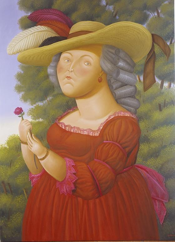 Marie-Antoinette_par_Fernando_Botero