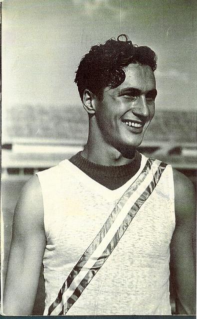 Missoni maglia campione del mondo 400 m.p. CampIT Torino luglio 1939