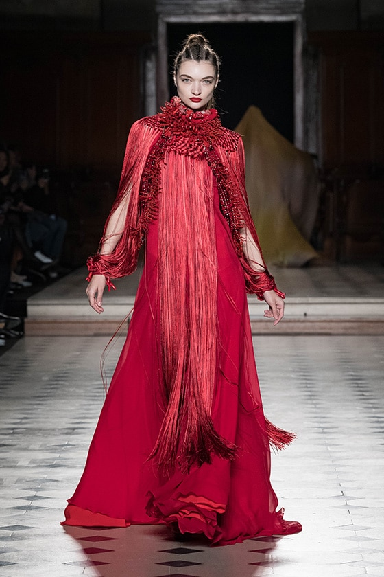 Fashion week, Haute Couture, summer 2020Julien Fournié