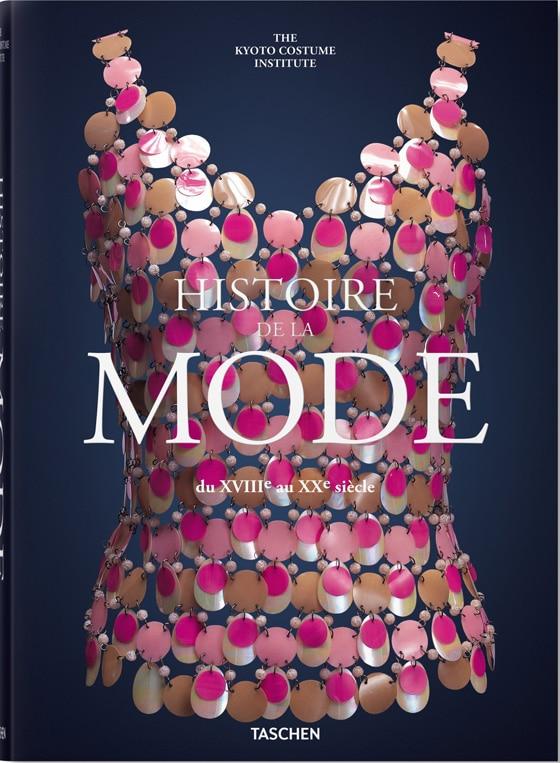 Histoire-de-la-mode-du-XVIIIe-au-XXe_Editions_Taschen_Cover