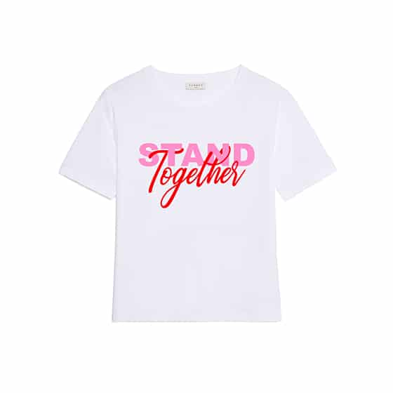 Sandro-T-shirt-STAND-TOGETHER