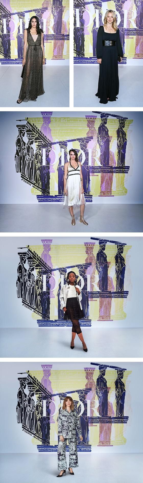 Croisiere_Dior_2022_VIP_Athina-Koini_Virginie-Efira_Cara-Delevingne_Thuso-Mbedu_Arizona-Muse_Courtesy_DIOR