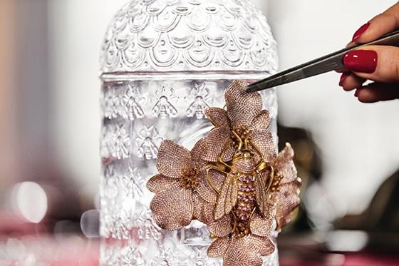 BegumKhan_x_Guerlain_The_Bee_Bottle_For Naked_Heart_Foundation